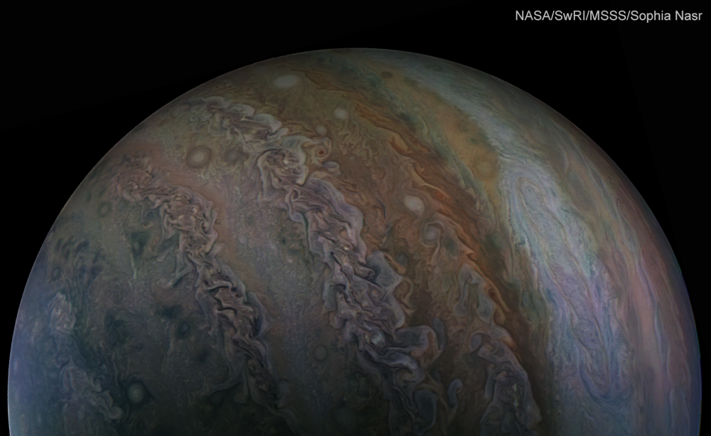 Jupiter Bands Zones Swirls Sept 1